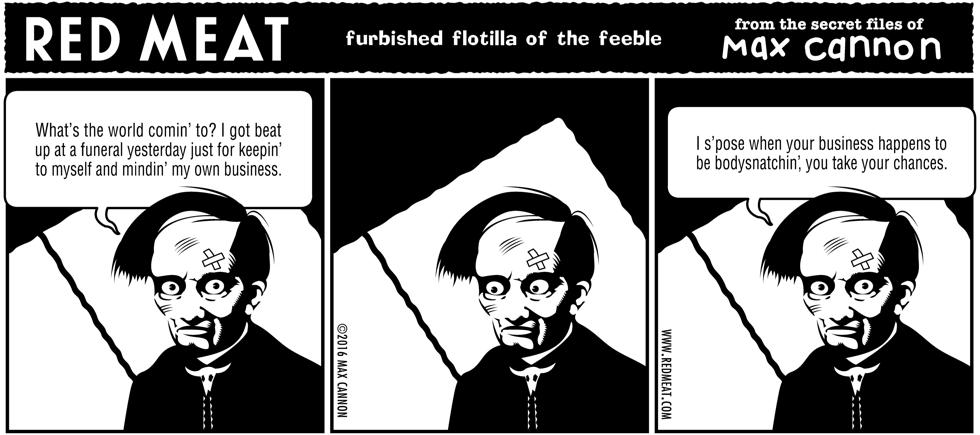 furbished flotilla of the feeble
