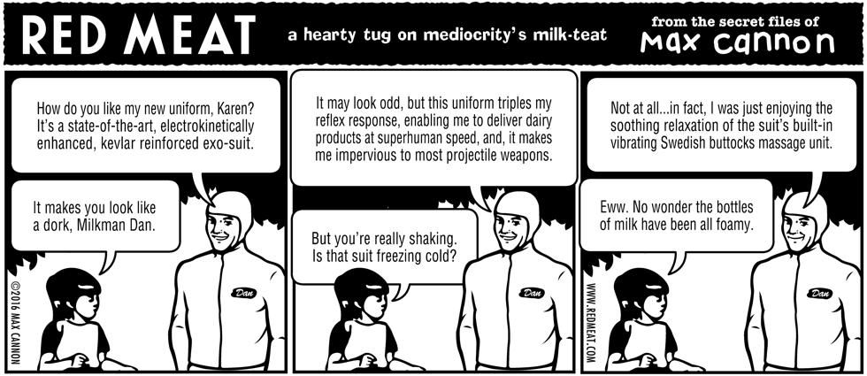 a hearty tug on mediocrity's milk-teat