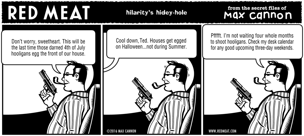 hilarity's hidey-hole