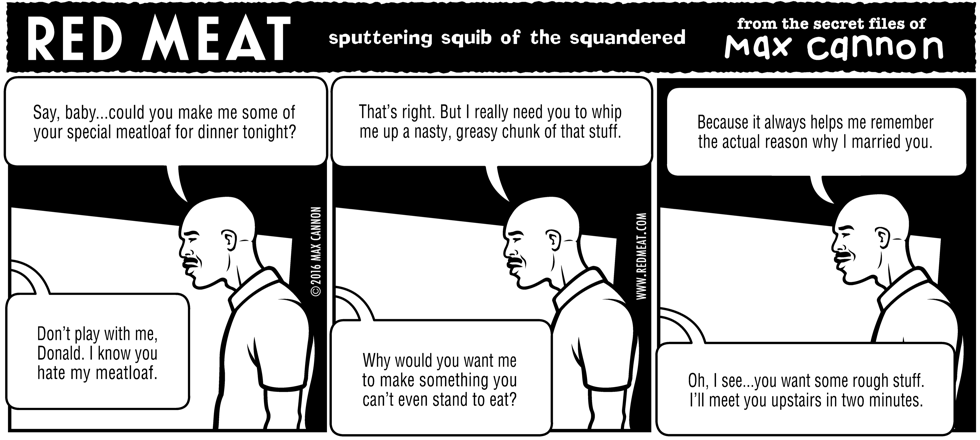 sputtering squib of the squandered