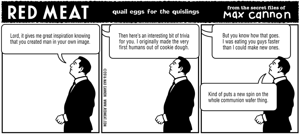 quail eggs for the quislings