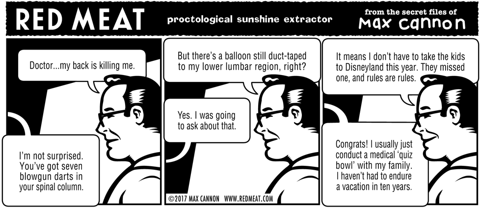 proctological sunshine extractor