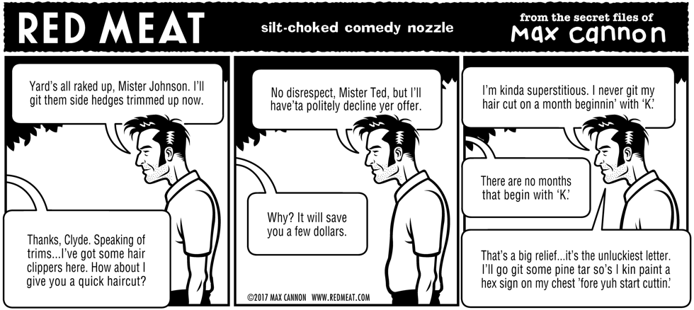 silt-choked comedy nozzle