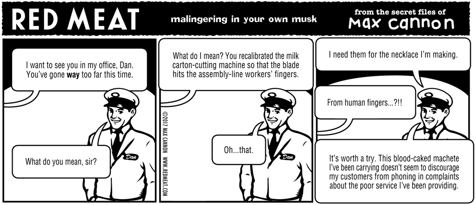 malingering in your own musk