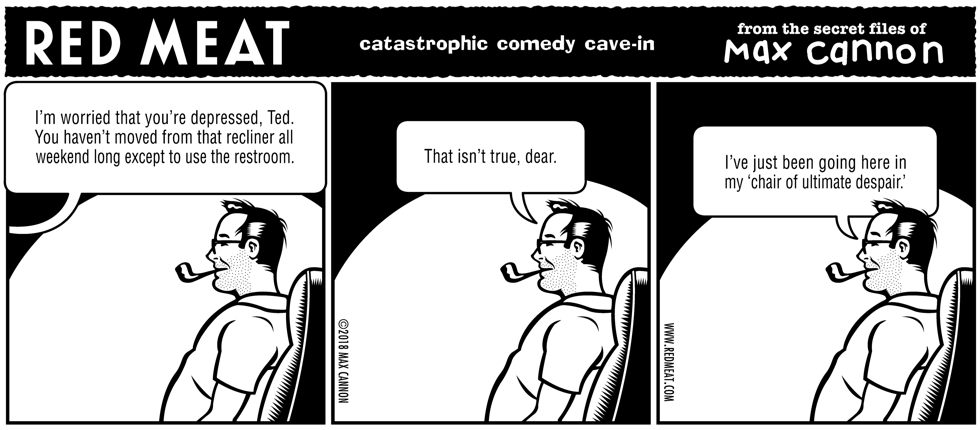 catastrophic comedy cave-in