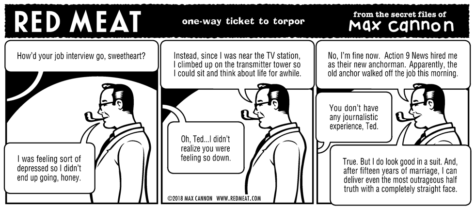 one-way ticket to torpor