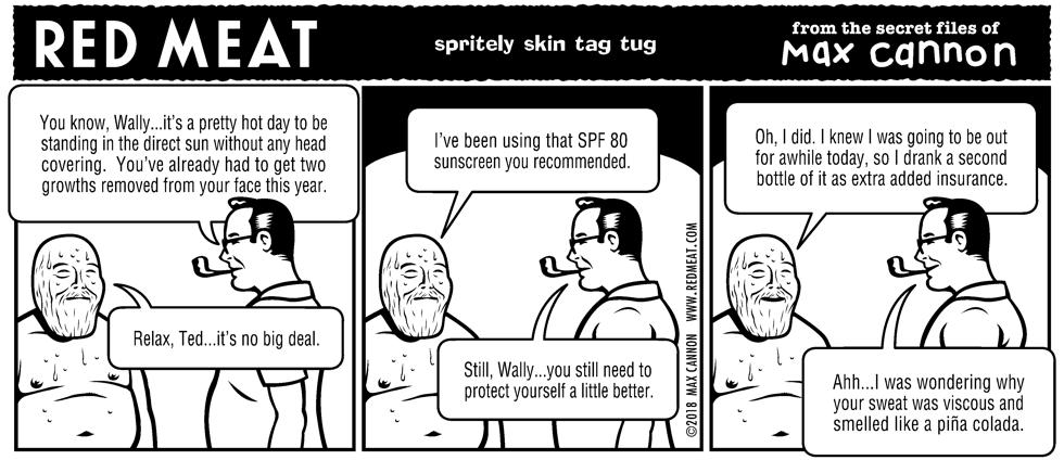 spritely skin tag tug