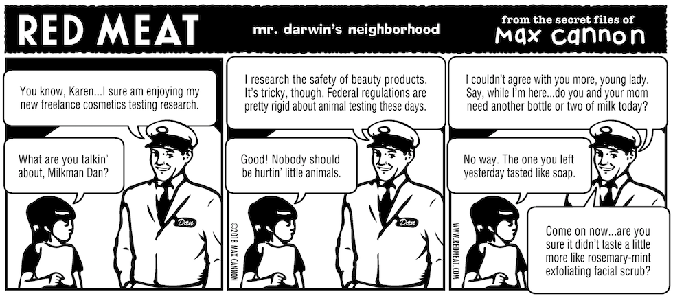 mr. darwin's neighborhood
