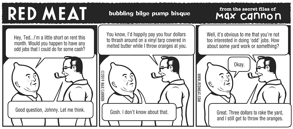 bubbling bilge pump bisque