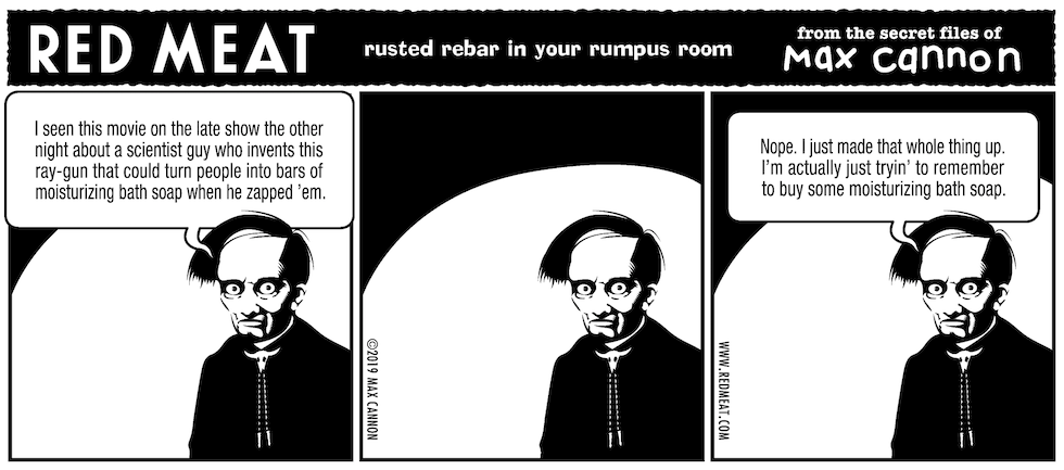 rusted rebar in your rumpus room