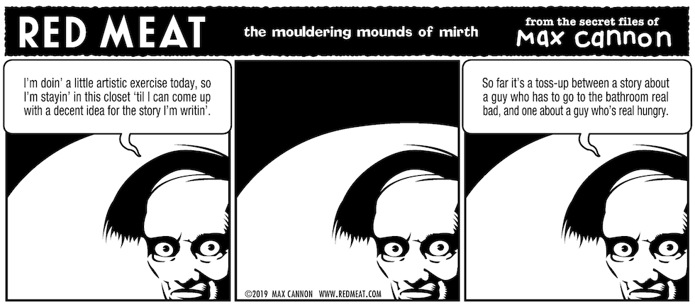 the mouldering mounds of mirth