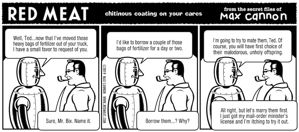 chitinous coating on your cares
