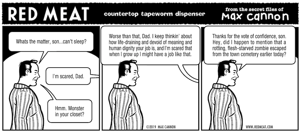 countertop tapeworm dispenser
