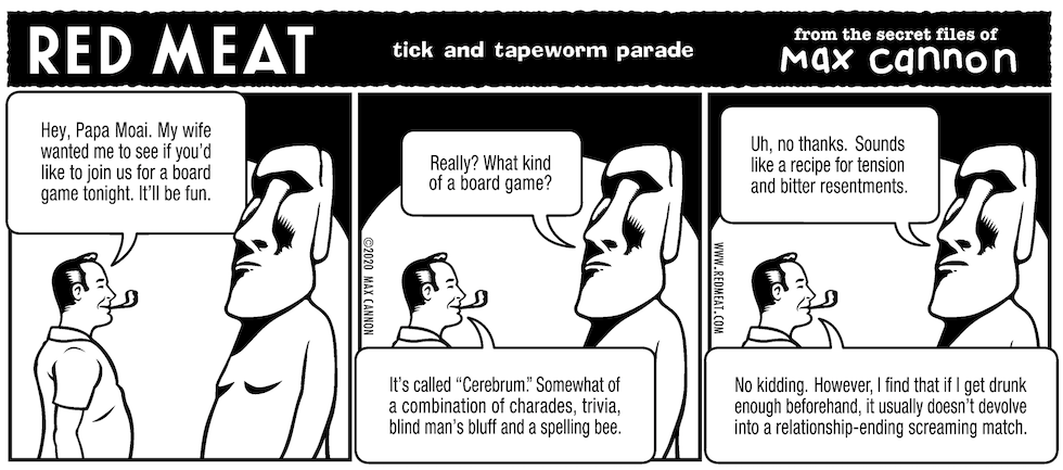 tick and tapeworm parade