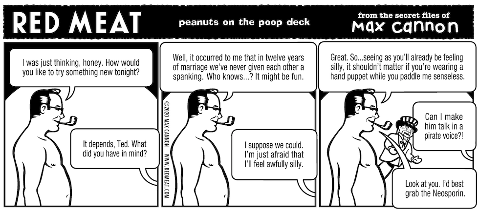 peanuts on the poop deck