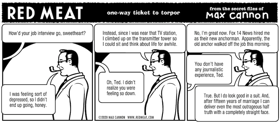 one-way ticket to torpor
