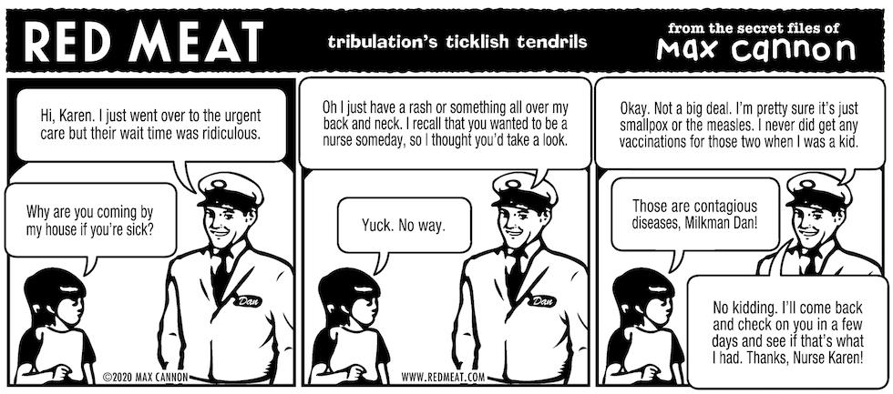 tribulation's ticklish tendrils