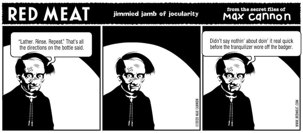 jimmied jamb of jocularity