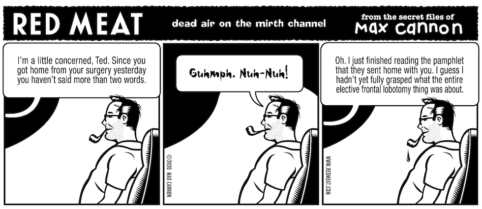 dead air on the mirth channel