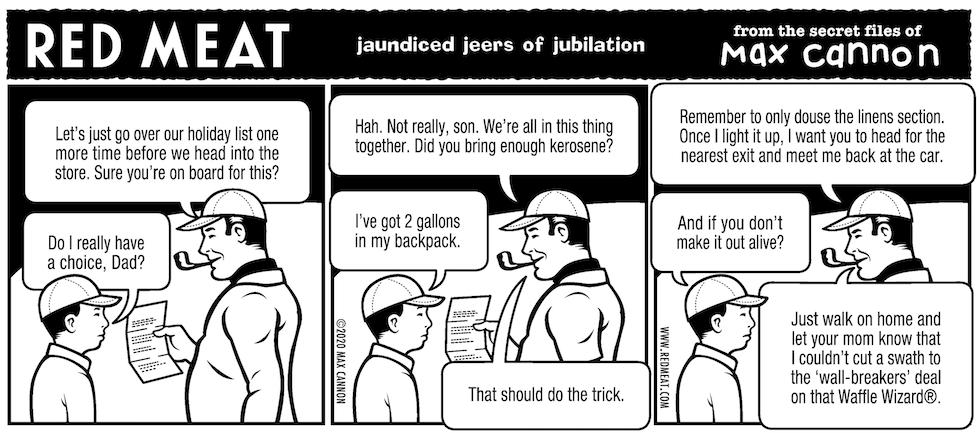 jaundiced jeers of jubilation