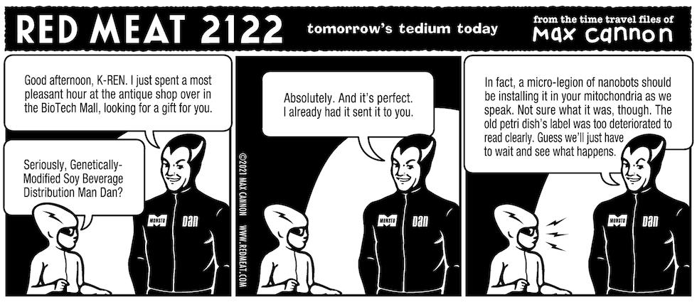 tomorrow's tedium today