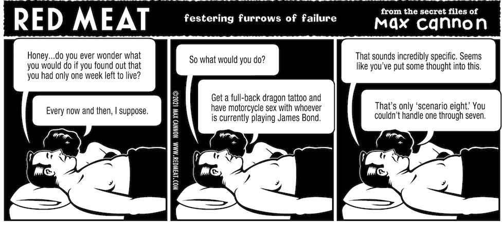 festering furrows of failure