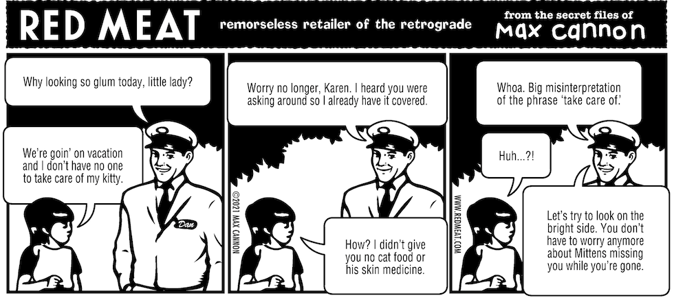 remorseless retailer of the retrograde
