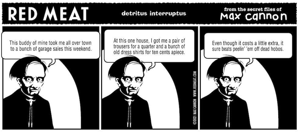 detritus interruptus