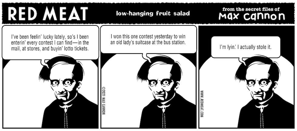low-hanging fruit salad