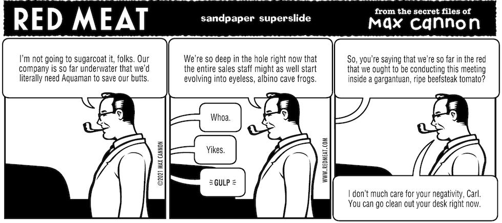 sandpaper superslide