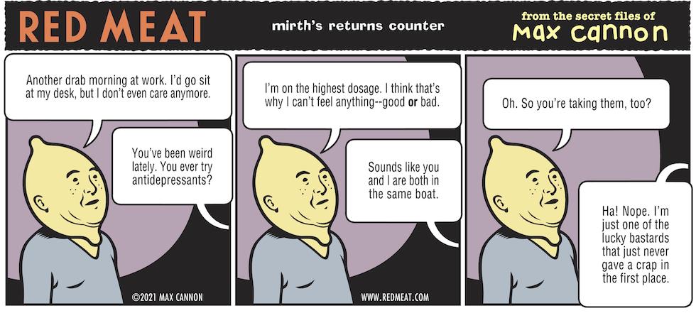 mirth's returns counter