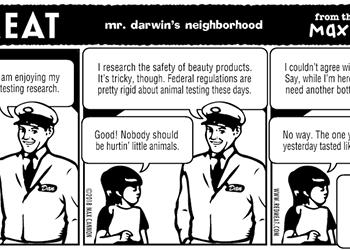 mr. darwin's neighborhood