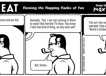 flensing the flopping flanks of fun
