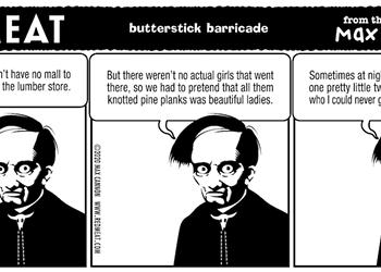 butterstick barricade