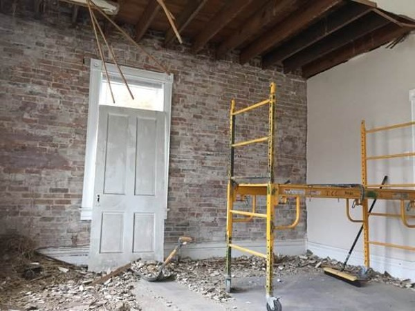 The place is currently under construction, with co-owner Mark Huebbe and his twin brother personally handling renovations. - PHOTO BY KEVIN KORINEK
