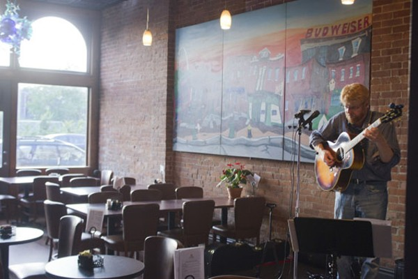 Howards' second room features live music acts. - PHOTO BY SARAH FENSKE