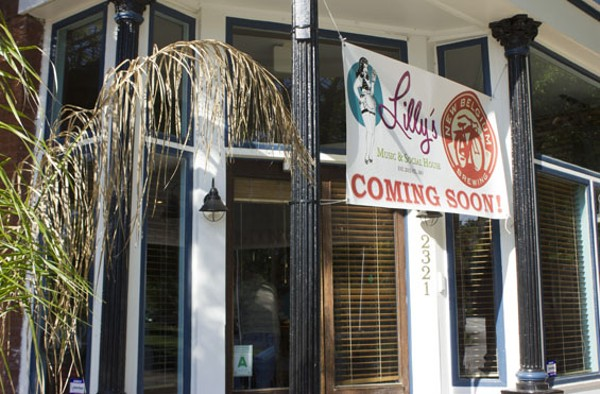Lilly's is located at the corner of Jefferson and Arsenal. - PHOTO BY SARAH FENSKE