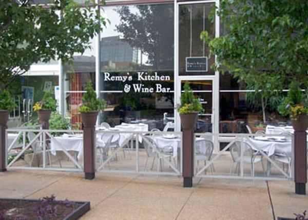 The patio at Remy's - PHOTO BY TARA MAHADEVAN