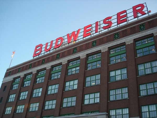 Anheuser-Busch headquarters in St. Louis. - PHOTO COURTESY OF FLICKR/PAUL KNITTEL