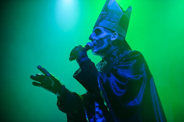 Ghost will perform at the Pageant on October 6. - JASON STOFF