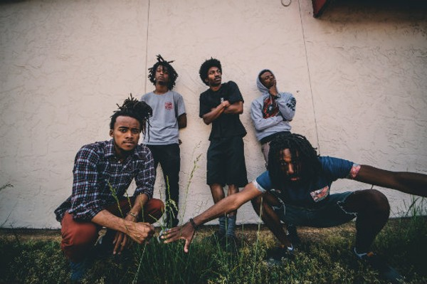 Hip-hop collective MME. - PHOTO BY CORY MILLER