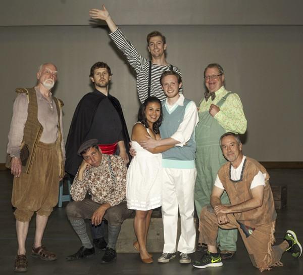Insight Theatre's Fantasticks. - JOHN LAMB