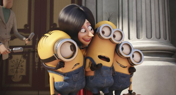 Scarlet Overkill turns the Minions into heroes. - COURTESY UNIVERSAL PICTURES AND ILLUMINATION ENTERTAINMENT