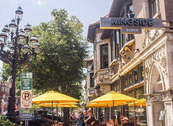 Outside Kingside Diner in the Central West End. - MABEL SUEN