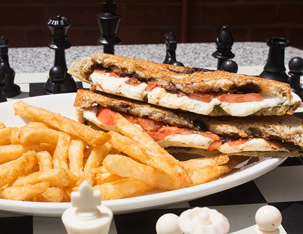 The caprese grilled cheese. - MABEL SUEN