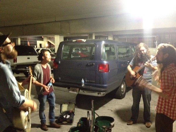 Radio Birds are just one of three bands whose van was broken into last weekend. - COURTESY OF RADIO BIRDS