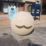 Someone Keeps Putting Their Mustache on St. Louis' Balls