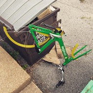 In St. Louis, Lime Bikes Get Sliced Up Like, Well, Limes