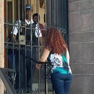 City Hall Locks Out Alderwomen, Activists