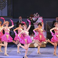 <i>Singin' in the Rain</i>, long-time Muny producer Paul Blake's swan song, is nearly all wet